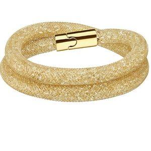 Swarovski Stardust Bracelet Yellow Gold